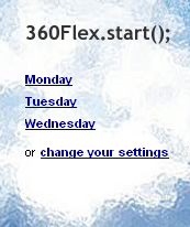 360FlexSchedule_flash lite apps