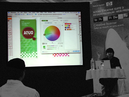 Adobe Creative Suite 3 event, Bangalore