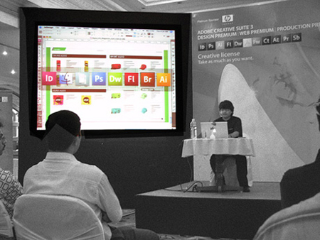 Adobe Creative Suite 3 event, Bangalore, India