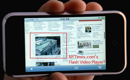 apple iphone Flash Player for iPhones