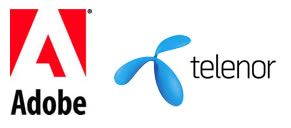 Adobe-telenor tieups