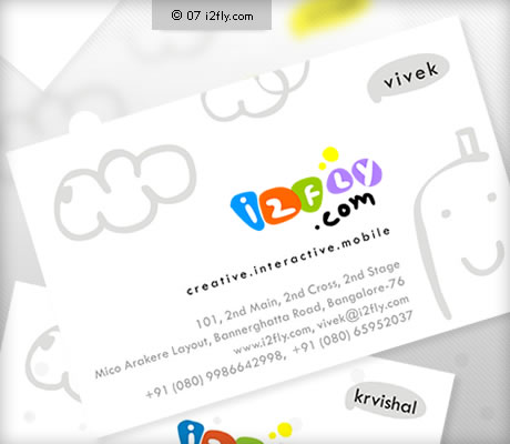 i2fly-business card