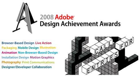 Adobe Design Achievement Awards 2008