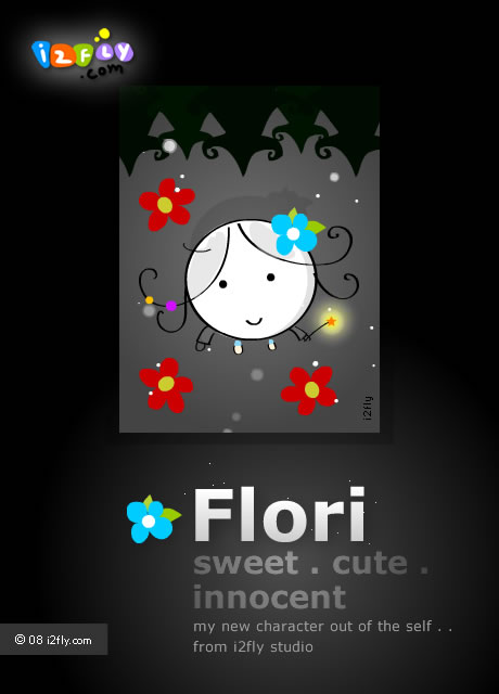 "Sweet little ""Flori"" out of the i2fly studio"