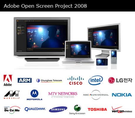Adobe Open Screen Project 2008