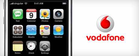 Vodafone and iphone in India