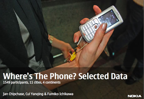 "A Cross Cultural Study on Phone Carrying ""Where's the Phone?"""