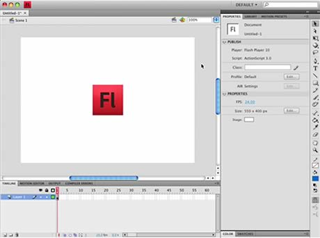 Adobe Flash CS4 Review