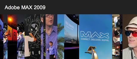 Adobe MAX 2009 Announcement