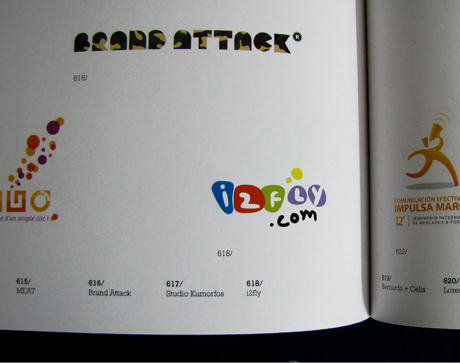 i2fly logo featured in logos book, Spain