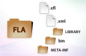 xml based FLA source files