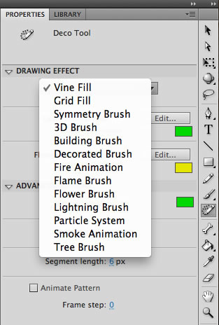 Deco scripts in Flash Professional CS5